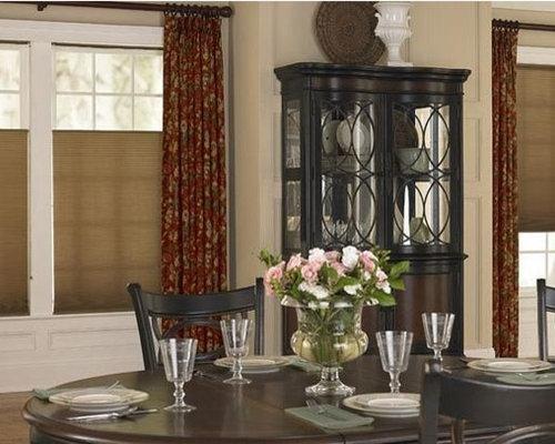 dining room- window treatments