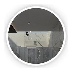 "Orbit Round LED Mirror, 30""x1.75"""