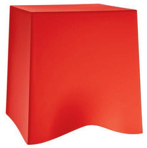 Briq Pall, Röd - Sideborde & aflastningsborde