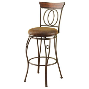 Kira Home Avery 30 Quot Adjustable Swivel Barstool Real Wood