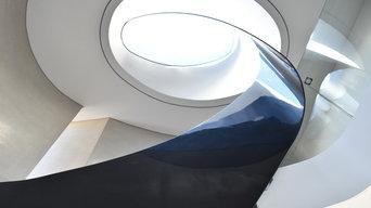 Steel Spiral Stairway
