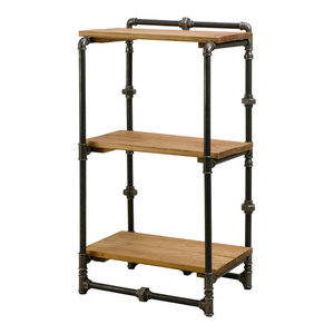 Small Steel Pipe Shelving Unit
