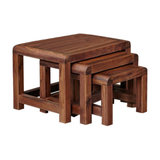 Shiro Walnut Nest of Tables