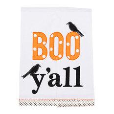 Boo Y'all Tea Towel