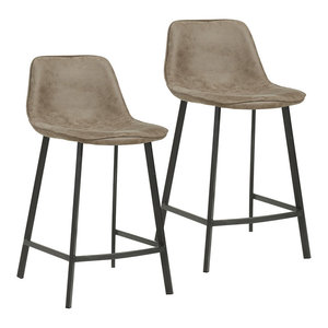 Tremendous Erin Fabric Counter Stool Midcentury Bar Stools And Machost Co Dining Chair Design Ideas Machostcouk