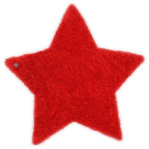 Tom Tailor Kids Rug, Star, Red, 100x100 cm