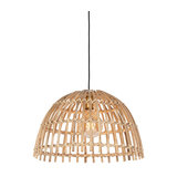 Rural hanging lamp natural bamboo - Cane Magna large