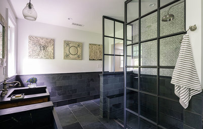 Room of the Day: Master Bath With an Educated Palette