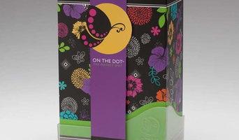 On The Dot Perfect Spot stylish feminine storage solution