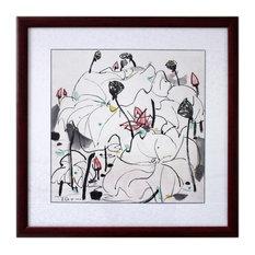 Lotus Flowers I by Wu Guanzhong