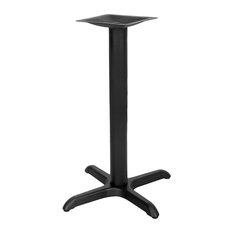 Flash Furniture - 22 #039; #039; x 22 #039; #039; Restaurant Table X-Base with 3 #039; #039; Dia. Ta