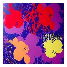 Flowers #66, Sunday B. Morning, Silk-Screen, Andy Warhol