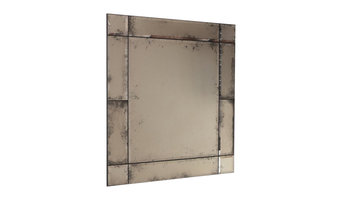 Modi Antiqued Mirror With Bevelled Panels, 85x100 cm