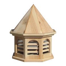 "SamsGazebos English Cottage Garden Octagon Cupola, 19"" Tall"