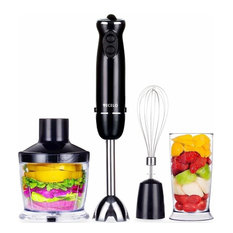 VECELO 700W Premium 4-in-1 Immersion Hand Blender Set With Food Processor
