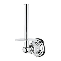 Rohl Spare Toilet Paper Holder in Polished Chrome