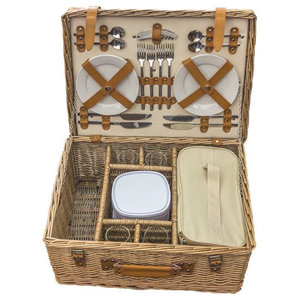 Blenheim Deluxe Fitted Picnic Basket