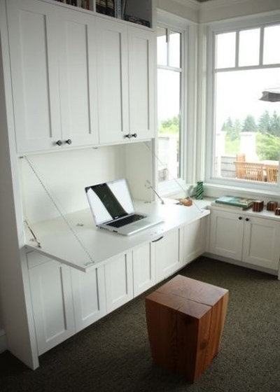 Chic functional home offices for Home office design ltd