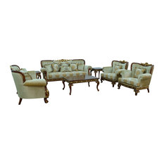 3 Pieces European Furniture Fantasia II Sofa Set