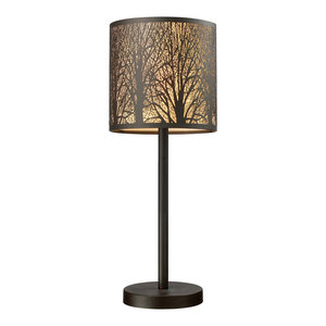 Uttermost 27765 1 Tarin Aged Bronze Table Lamp