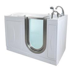 "52""x32"" Royal Acrylic Walk-In Bathtub, Right, Microbubble Therapy"
