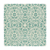"Kaleen Hand Tufted Evolution Mint Wool Rug, 5'9"" Square"