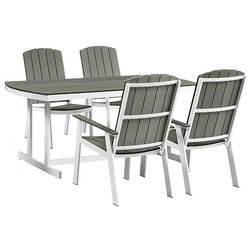 Contemporary Outdoor Dining Sets by VirVentures