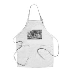 Chef's Apron, New Haven, Connecticut, Campus Scene at Yale University