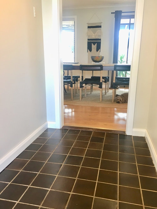 Floating Floorboards In The Front Entrance Way Would Like Some Advice On What Step To Do First Ie Should Door Be Replaced Or Tiles
