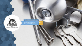 Anytime Locksmiths St Helens | 01744 332025