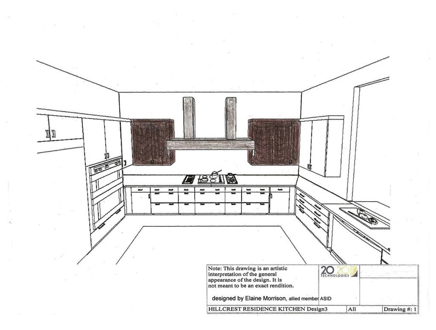 My rendereing of this project, View #1