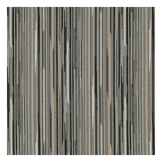 Black Silver And Beige Abstract Striped Contract Upholstery Fabric By The Yard