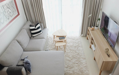 Houzz Tour: Scandi-Style Flat a Stage for Star Wars and Kittens