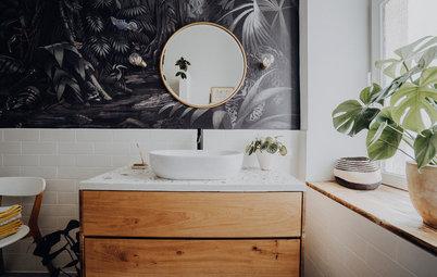 5 Badgestaltungen im Loft, Alt- und Neubau