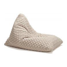 Innovation Living - PLAYER coz blanc Pouf fauteuil INNOVATION design - Repose-pieds, Pouf et Cube