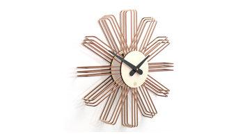 Wanduhr Estrella aus Holz | © 2016 farbflut Design GmbH