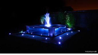 Instantpond® Official - Raised Stainless Steel Koi Pond - 2 Hour Construction!