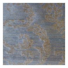"""Granville 110"""" Organza Fabric Window Curtain Drapery Fabric, Mineral"""