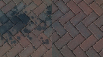 Oil stain removal in Crown Point