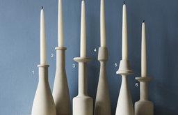 Arwen Stone Candlesticks