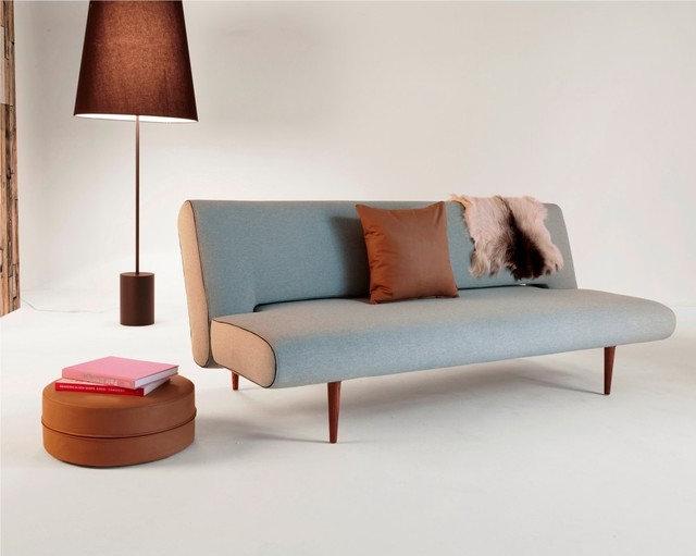 Danish Design Sofa Bed Unfurl King Single