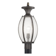 River Place Collection One-Light Post Lantern