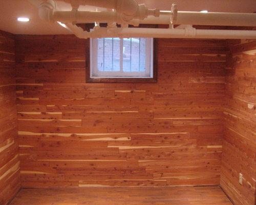 how to build a cedar closet in basement