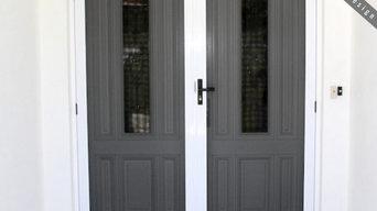 Hinged Door Security Screen 316 Grade Marine Stainless!