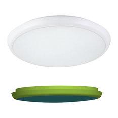 Dusk till Down, 22w Ultra slim thin bulkhead LED microwave sensor Light, IP 65