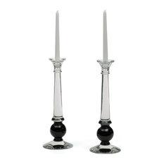 Timeless Inspired Style Sylvester Candlesticks 12532, Set of 2
