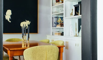 Eclectic Mid-Century Inspired Dining Room