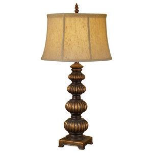 1-Light Table Lamp, Firenze Gold