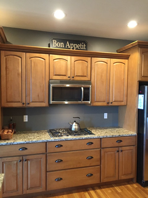 Please Help Me Choose Top Of Kitchen Cabinet Decor