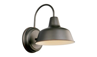 Mason Outdoor Downlight, Oil Rubbed Bronze
